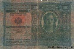100 Kronen AUTRICHE  1919 P.056 B