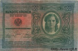 100 Kronen AUTRICHE  1919 P.056 TB