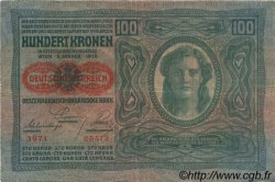 100 Kronen AUTRICHE  1919 P.056 TTB