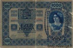 1000 Kronen AUTRICHE  1919 P.057a TB