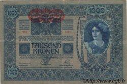 1000 Kronen AUTRICHE  1919 P.057a TTB