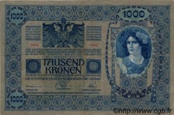 1000 Kronen AUTRICHE  1919 P.059 TTB