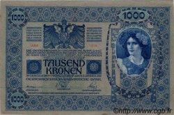 1000 Kronen AUTRICHE  1919 P.059 SUP à SPL