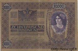 10000 Kronen AUTRICHE  1919 P.064 TB