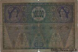 10000 Kronen AUTRICHE  1919 P.065 B
