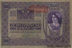 10000 Kronen AUTRICHE  1919 P.065 TB