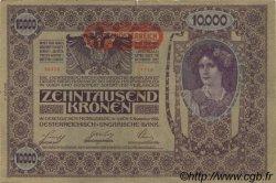 10000 Kronen AUTRICHE  1919 P.066 TB