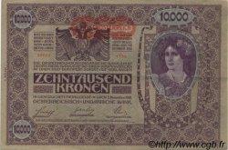 10000 Kronen AUTRICHE  1919 P.066 SUP+