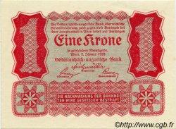1 Krone AUTRICHE  1922 P.073 SUP+