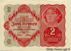 2 Kronen AUTRICHE  1922 P.074 SUP+