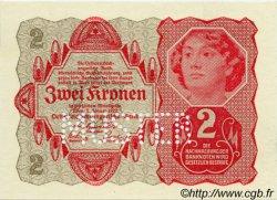 2 Kronen AUTRICHE  1922 P.074s NEUF