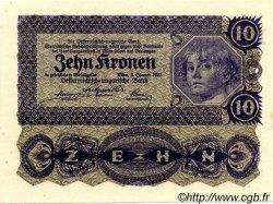 10 Kronen AUTRICHE  1922 P.075 NEUF