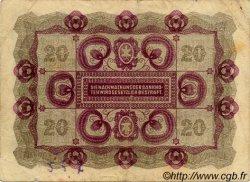 20 Kronen AUTRICHE  1922 P.076 TB