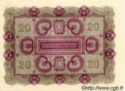 20 Kronen AUTRICHE  1922 P.076 pr.NEUF