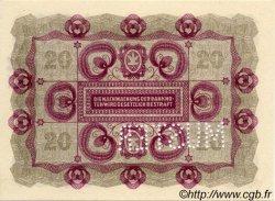 20 Kronen AUTRICHE  1922 P.076s NEUF