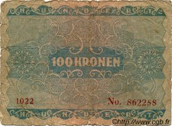 100 Kronen AUTRICHE  1922 P.077 B