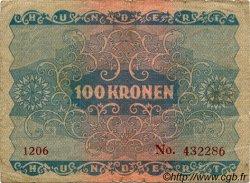 100 Kronen AUTRICHE  1922 P.077 TB