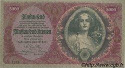 5000 Kronen AUTRICHE  1922 P.079 SPL
