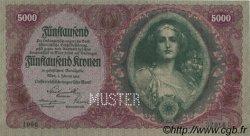 5000 Kronen AUTRICHE  1922 P.079s NEUF