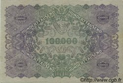 100000 Kronen AUTRICHE  1922 P.081 TTB