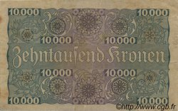 10000 Kronen AUTRICHE  1924 P.085 TTB