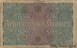 1 Schilling sur 10000 Kronen AUTRICHE  1924 P.087 B+