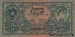 20 Schillinge AUTRICHE  1925 P.090 TB+
