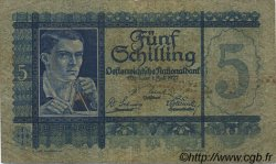 5 Schilling AUTRICHE  1927 P.093 TB