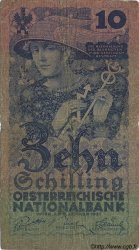 10 Schilling AUTRICHE  1927 P.094 B