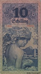 10 Schilling AUTRICHE  1927 P.094 TTB