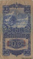 10 Schilling AUTRICHE  1933 P.099a TB