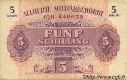 5 Schilling AUTRICHE  1944 P.105 TTB