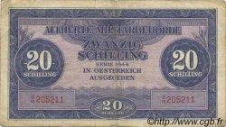 20 Schilling AUTRICHE  1944 P.107 TB+
