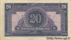 20 Schilling AUTRICHE  1944 P.107 TTB+