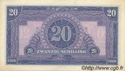 20 Schilling AUTRICHE  1944 P.107 NEUF