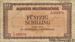 50 Schilling AUTRICHE  1944 P.109 B