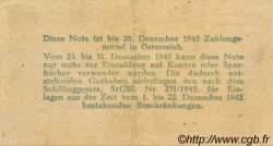 1 Reichsmark AUTRICHE  1945 P.113b SUP
