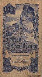 10 Schilling AUTRICHE  1945 P.114 TTB