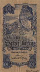 10 Schilling AUTRICHE  1945 P.114 B+