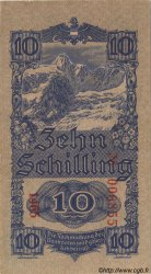 10 Schilling AUTRICHE  1945 P.114 SUP