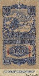 10 Schilling AUTRICHE  1945 P.115 B