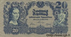 20 Schilling AUTRICHE  1945 P.116 TB