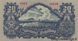 20 Schilling AUTRICHE  1945 P.116 SUP