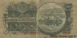 50 Schilling AUTRICHE  1945 P.117 B+