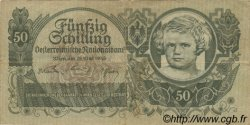 50 Schilling AUTRICHE  1945 P.117 TB