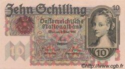 10 Schilling AUTRICHE  1946 P.122 pr.NEUF