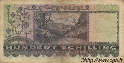 100 Schilling AUTRICHE  1947 P.124 B+
