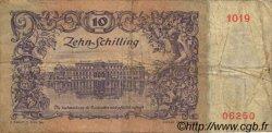 10 Schilling AUTRICHE  1950 P.127 B