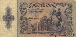 10 Schilling AUTRICHE  1950 P.127 TB