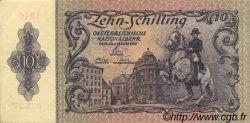 10 Schilling AUTRICHE  1950 P.127 pr.SUP